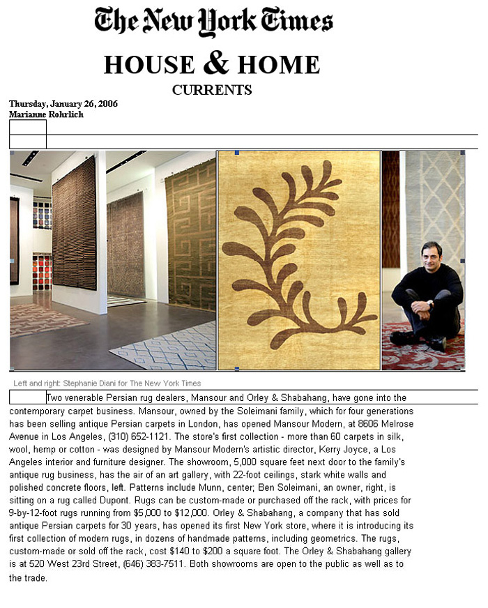N.Y. Times House & Home